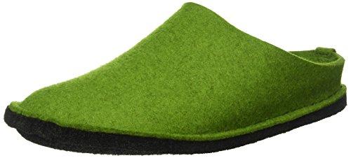Haflinger Flair Soft, Unisex-Erwachsene Ungefüttert Hausschuhe, Grün (Grasgrün 36), 42 EU