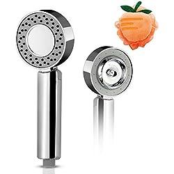 Douchette,pomme de douche à haute pression, double douche, profitez du SPA à la maison, améliorez votre expérience de baignade, cadeaux - boule de bain ananas