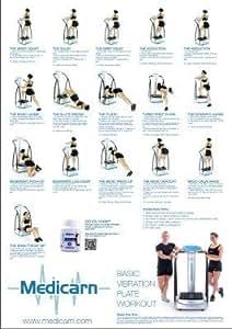 A1 (LARGE) Medicarn ® Power Vibration Plate Workout