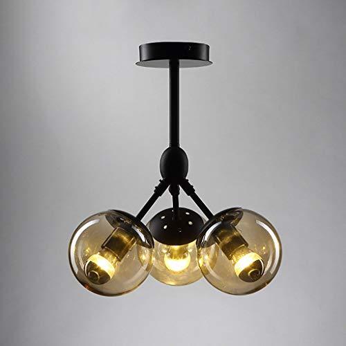 Moderne Geschmiedete Eisen (BMQXX Moderne Moderne Lampe aus Eisen geschmiedet Lampe für Wohnzimmer Schlafzimmer Flur Restaurant Esszimmer)