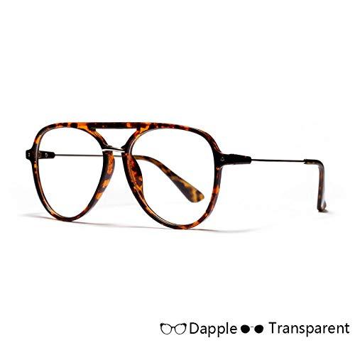 YMTP Klare Linsen Gläser Frauen Pilot Stil Brillen Männer Transparente Linse Sonnenbrille Weiblich Männlich Unisex Oculos