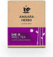 Amaara Herbs She -B Well Tea -a Women Wellness Herbal Tea (20 Tea Bags)