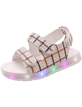 Sandalias de Bebé, ❤️ Amlaiworld Verano Sandalias de deporte de niños niñas bebé Zapatillas luminosas LED con...