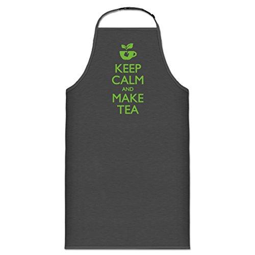 Delantal de cocina Keep calm and make Tea by...