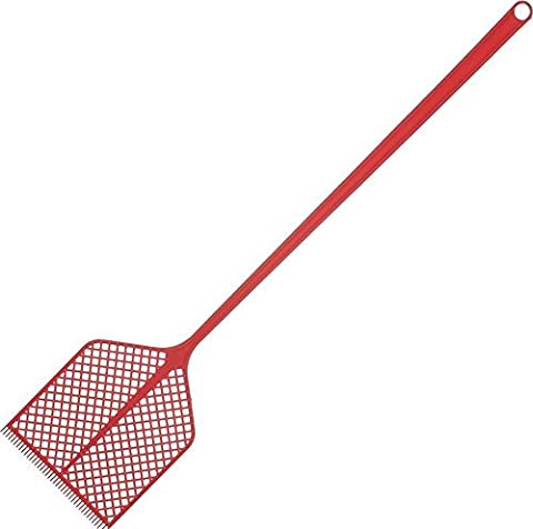 Metaltex 8002522497001 fly swatter - fly swatters (Green, Red, Yellow, Plastic) by Metaltex