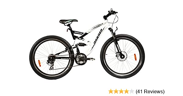 d300469dfd5 Buy Hercules Roadeo A-300 26T 21 Speed Mountain Bike (White/Black) Online  at Low Prices in India - Amazon.in