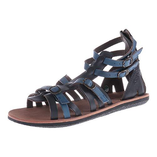 Kickers 4201215281 - Sandalias para Mujer, Color Azul, Color Azul, Talla 36 EU