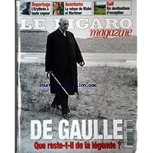 FIGARO MAGAZINE (LE) du 15/11/2003 - L'ERYTHREE - LE RETOUR DE BLAKE ET MORTIMER - GOLF - DE GAULLE.