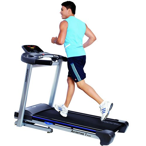 Horizon Fitnesslaufband mit FLEXTech-Dämpfungssystem