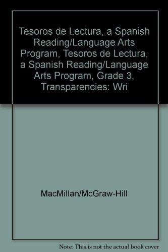 Tesoros de Lectura, a Spanish Reading/Language Arts Program, Grade 3, Transparencies: Writing Process (Elementary Reading Treasures) por McGraw-Hill Education