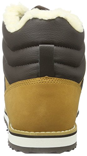 Lacoste - Jarmund fourre h tan - Chaussures mid mi montantes Marron