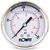 Flowfit 40 mm/Dry pneumatico manometro, 0-400 PSI