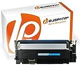 Bubprint Toner kompatibel für Samsung CLT-C406S/ELS für CLP-360 CLP-365 CLP-365W CLX-3300 CLX-3305 CLX-3305FN CLX-3305W Xpress C410W C460FW C460W Cyan
