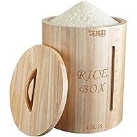 Dispensadores de cereales Barril De Arroz Caja De Almacenamiento De Ventana Barril De Superficie Cilindro De