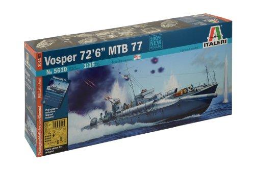 Italeri 5610 - vosper 72''6' mtb 77 model kit scala 1:35