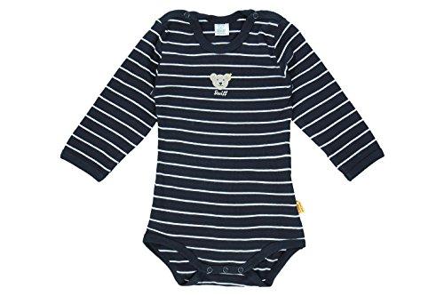 Steiff Unisex Baby Body, Blau (Steiff Marine), 12-18 Monate (JHerstellergröße: 80) Preisvergleich