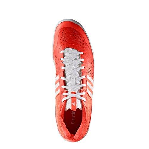 adidas Throwstar, Scarpe da Ginnastica Uomo Rosso (Rojsol/Ftwbla)
