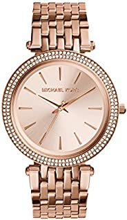 Michael Kors Women's Darci Rose Gold-Tone Watch MK