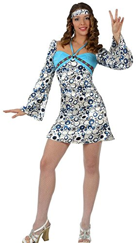 Imagen de atosa  disfraz de hippie para mujer, talla m