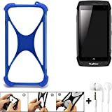 K-S-Trade Mobile Phone Bumper for Ruggear RG730 Silicone
