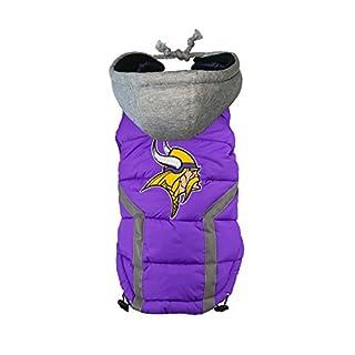 Little Earth NFL Minnesota Vikings Hundeweste, Purple/Gold/White