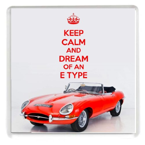keep-calm-and-dream-of-an-e-type-drinks-coaster-with-a-picture-of-a-classic-1964-e-type-jaguar-from-