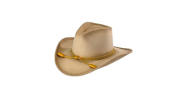 85dff68024904 RESISTOL Men s John Wayne Hondo Cavalry Hat Silverbelly X-Large   Amazon.co.uk  Clothing