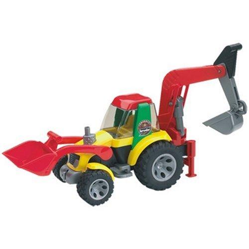 Bruder 20105 Roadmax - Retroexcavadora de juguete
