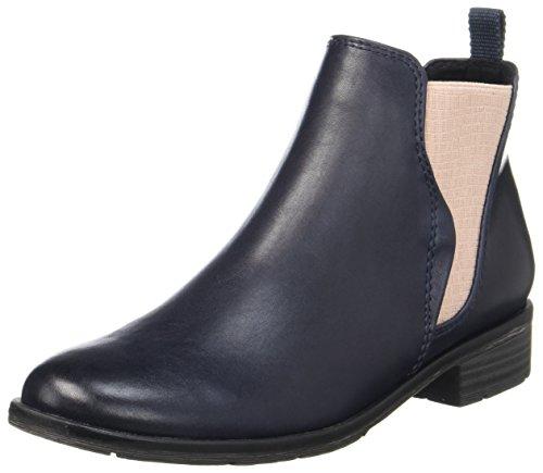MARCO TOZZI Damen 25040 Chelsea Boots, Blau (Navy Antic), 37 EU