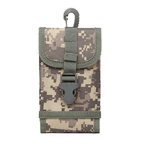 Serie Outdoor-ofen (Tactical MOLLE-Smartphone Tasche Outdoor Gürtelclip Tasche Hüfttasche Tragetasche für iPhone XS Max XS 8 7 Plus Geldtasche Samsung S8 Plus S7 Edge Plus LG G6/G5, grau)