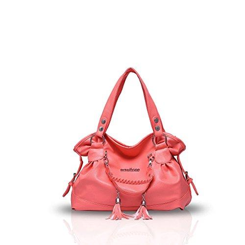 Bilis, Borsa a mano donna, Rose Red (rosa rosso) - Bilis-517 Watermelon Red