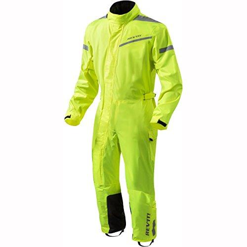 Revit Einteilige Textilkombi Pacific 2 H2O, Farbe Neongelb-schwarz, Größe XXL
