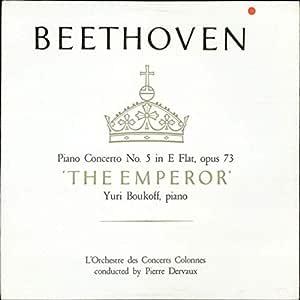 Beethoven: Piano Concerto No. 5 in E Flat, Opus 73