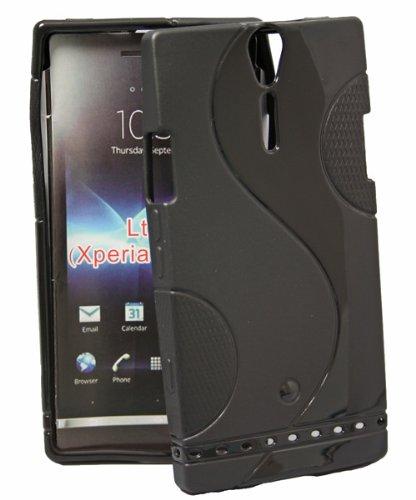 sumo:mobile Gel Style Case Wave für Sony xperia S Lt26i ARC HD in schwarz (Gel Wave)