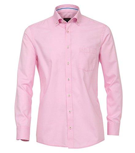 Casa Moda - Comfort Fit - Herren Oxford Hemd in verschiedenen Farben (472675900) Pink (400)