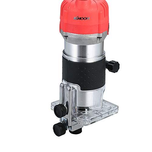 Fresadora Máquina de corte multifunción, 800 W 220 V, recortadora de enrutador...