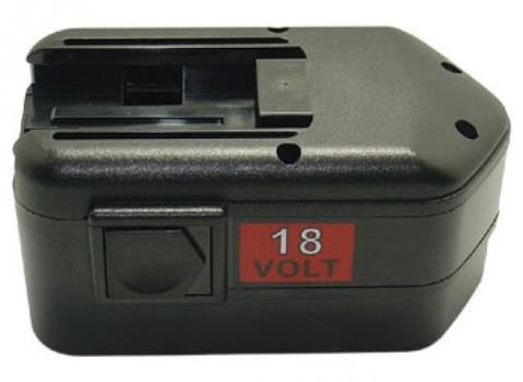 Preisvergleich Produktbild PowerSmart® 18V 2,2Ah NiMH Akku für MILWAUKEE All 18 Volt Power Plus Driver Drills, LokTor H 18, LokTor P 18 TX, LokTor P 18 TXC, LokTor S 18 PX, LokTor S 18 TX, LokTor S 18 TXC, PIW 18, PMS 18, PSH 18, PSH 18X, PWS 18