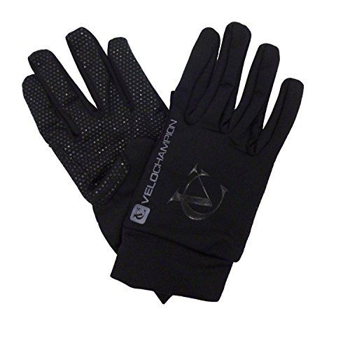VeloChampion Spring Race Fahrrad Handschuhe L schwarz/silber (Assos Winter-handschuh)