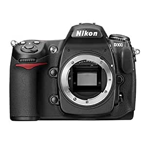 Nikon D300 SLR-Digitalkamera (12 Megapixel, LifeView) Kit inkl. DX VR 16-85 Objektiv