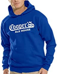 Touchlines Herren Kapuzen Sweatshirt Coopers - Ale House, B7114
