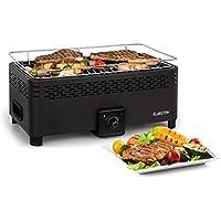 Klarstein Micro-Q 3131 Barbacoa de carbón Vegetal • Portátil • Parrilla de Camping •