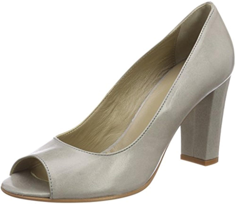 NOE Antwerp Norris Pump, Zapatos de Tacón con Punta Abierta para Mujer