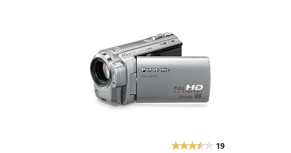 Panasonic Hdc Sd10 Eg S Full Hd Camcorder 2 7 Zoll Kamera