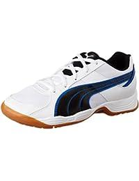 Puma vitela iii jr 102661 zapatos de balonmano unisex-infantil