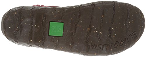 El Naturalista Damen Ne23 Soft Grain Purple / Yggdrasil Chelsea Boots Rot (TIBET N81)
