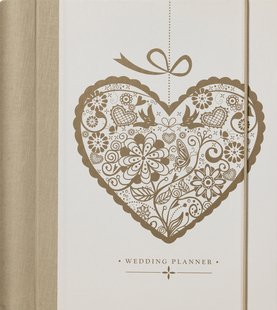 KTWO Golden Heart Luxury Wedding Planner - great engagement gift!