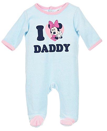 Pigiama da bambino, motivo minnie, 'i love daddy'rosa e blu a 23mois da 3 rosa rosa 23 mesi