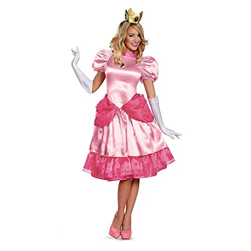 Generique - Prinzessin Peach Verkleidung Deluxe für
