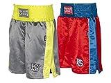 Paffen Sport Kids Kinder-Boxerhose - rot/blau/weiß - Größe: 122-134