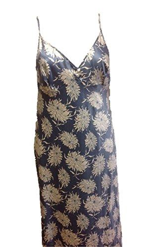 armona - Chemise de nuit - Femme * taille unique motif floral bleu